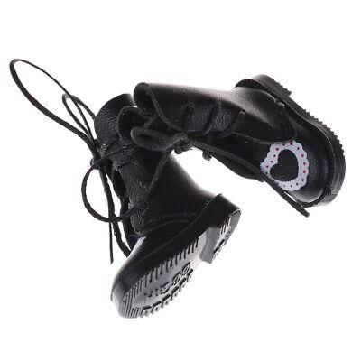 1Pair PU Leathers 1/8 Dolls Boots Shoes for BJD 1/6 Dolls Blythe Licca Jb DollsJ 5