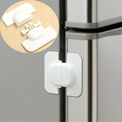 Refrigerator Fridge Freezer Door Lock Latch Catch for Toddler Child Safety o zi 2