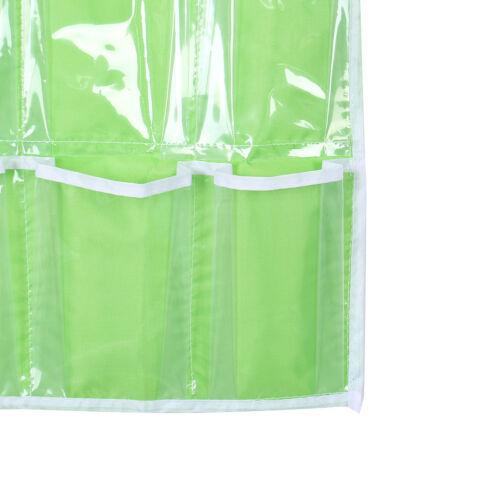 Pockets Foldable Wardrobe Hanging Bags Socks Clothing Hanger Shoes Storage Bag F 10