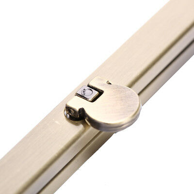 19cm Purse Wallet Frame Bar Edge Strip Clasp Metal Openable Edge Replacement LY