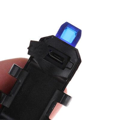 5 LED USB rechargeable vélo de queue avertissement de sécurité feu arrièreIH