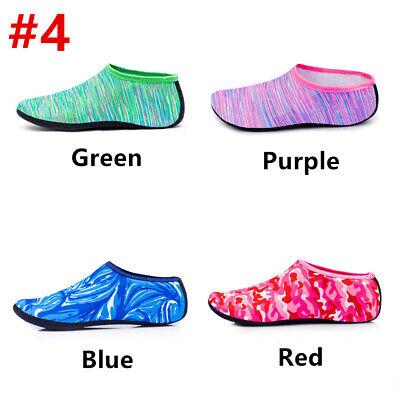 Men Women Water Skin Shoes Aqua Socks Diving Wetsuit Non-slip Swimming Beach UK 5