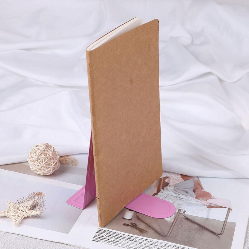 Buntes Hochleistungsmetall-Buchstützen-Buch endet Bürostation Pwr