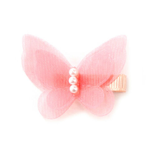 5xBow Butterfly Haarspangen Mädchen Haarspangen Kinder Haarnadel HeadwearZubehTG