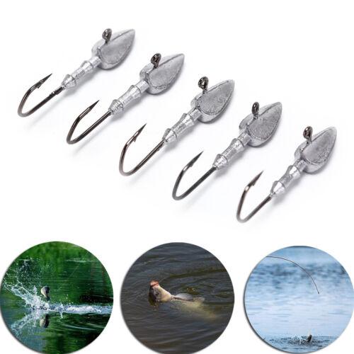 Lead jig Fishing Hooks Triangle Jig Lead Head Hooks Fishing Tackle AccessoriesHV