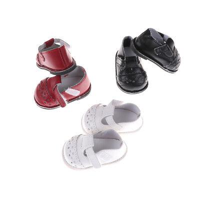 Chaussures de poupée bracelet en cuir pu pour 16''poupées SharonFE
