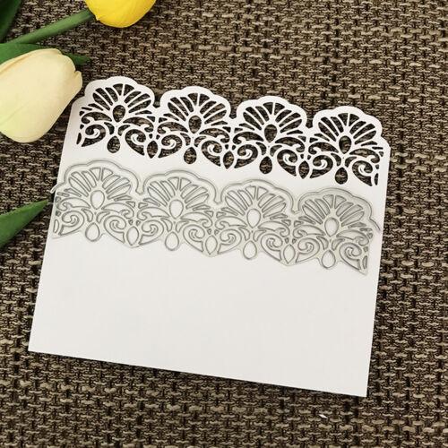"lace Design Metal Cutting Dies For DIY Scrapbooking Card Paper Album""# 3"