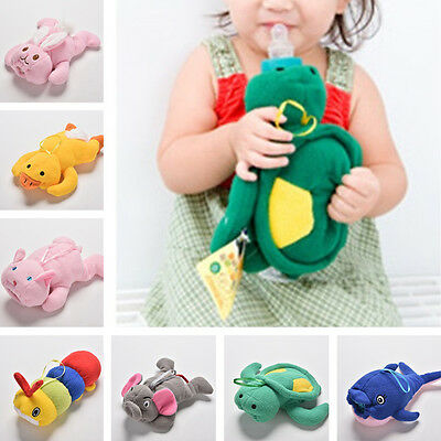 Baby Kids Cartoon Feeding Bottles Bag Lovely Cute Milk Bottle Pouch Cover Toy ST 3