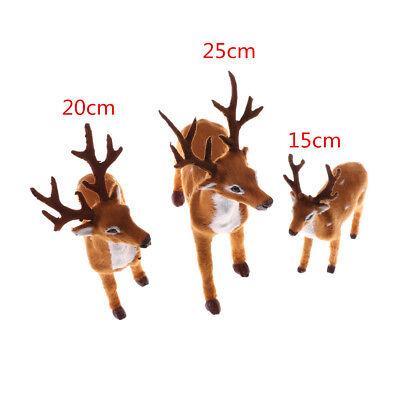 Christmas Simulation Plush Reindeer Xmas Elk Plush TOY New Year  Decors  FkAPUK