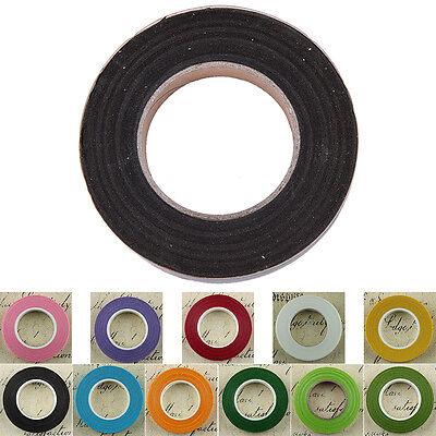 30yards Florist Green Floral Stem Tape Corsage Buttonhole Artificial Stamen Wrap 3
