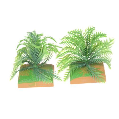 Puppenhaus Garten Micro Landschaft Mini Bush Bäume Greennd Tabelle