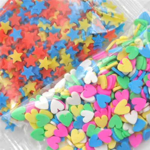 10g Polymer Clay Fake Candy Sweets Simulation Creamy Sprinkles Phone Shell// JT