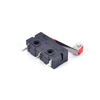 10Pcs Micro Roller Lever Arm Open Close Limit Switch KW12-3 PCB MicroswitchAB