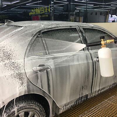 Snow Foam Lance Cannon Pressure Washer Gun Car Foamer Wash Bottle AdapterSe TKC 5