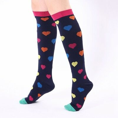Compression Socks For Women Men 21-59CM Medical Nursing Travel Flight Crossfit 8