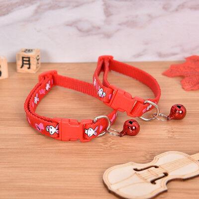cute rabbit pattern pets cat dog puppy kitten adjustable pet collar with bell G$ 12