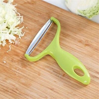 Küchenwerkzeug Gemüse Obstschäler Kohl Reibe Cutter Slicer Edelstahl 2020