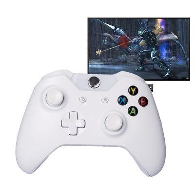 Bluetooth Wireless Games Controller Gamepad Joystick Microsoft Xbox One WhiteSPU 3