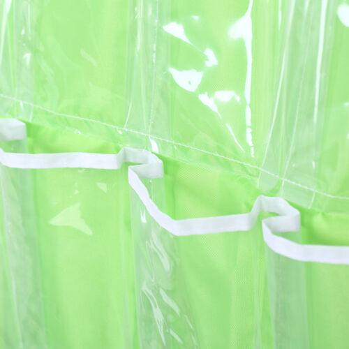 Pockets Foldable Wardrobe Hanging Bags Socks Clothing Hanger Shoes Storage Bag F 9