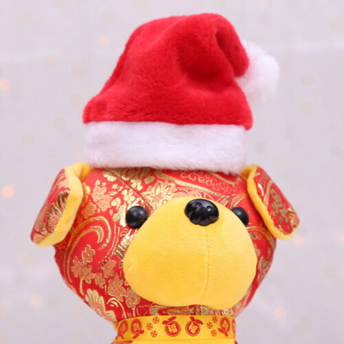 Christmas pet santa hat small puppy cat dog xmas holiday costume ornamentY lq 3