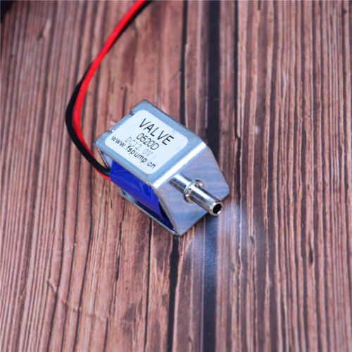 DC 6//12//24V electric solenoid valve N//C normally closed  mini for gas air va RG