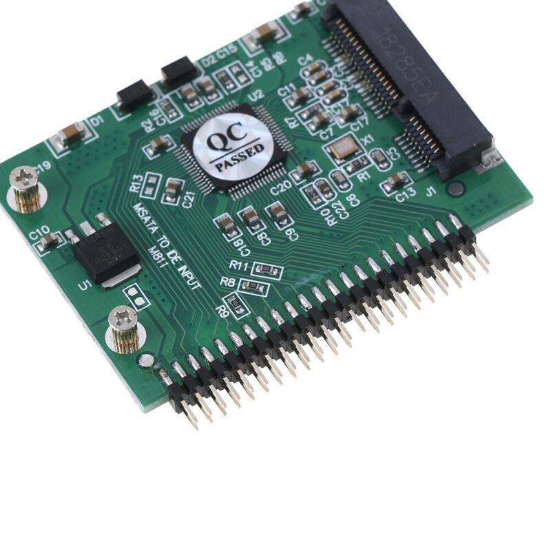 mSATA adapter mSATA SSD to 44Pin IDE adapter mSATA IDE converter card for laptBB 8