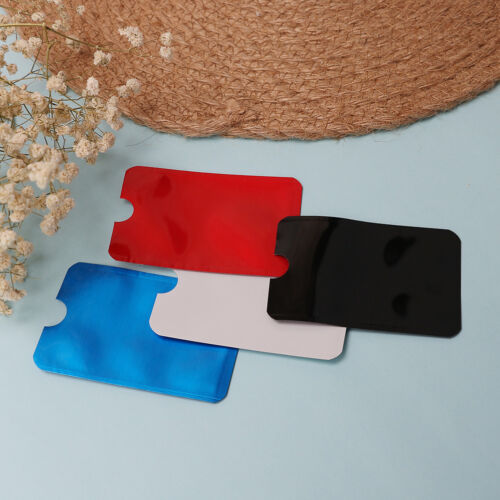 10pcs colorful RFID credit ID card holder blocking protector case shield cover—H 3