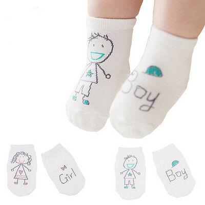 Bebé recién nacido algodón niño asimetría antideslizante calcetines de piso 3