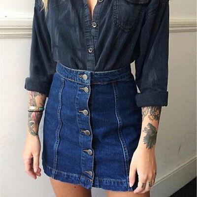 Ikrush Femme Peppa Moulante Bouton Avant Jupe