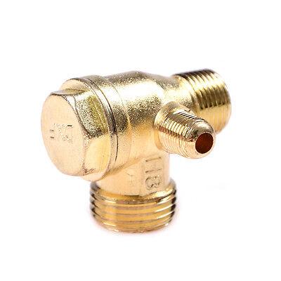 Compresor de aire 3Port latón macho roscado válvula de retención conector KY 6