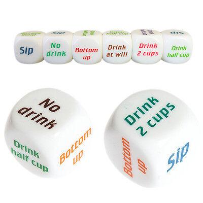 Funny Drink Drinking Decider Dice Games Christmas Bar Party Pub Bar Fun Toy