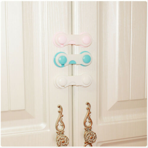 1x Baby Drawer Lock Kid Security Protect Cabinet Toddler Child Safety Lock PB 2