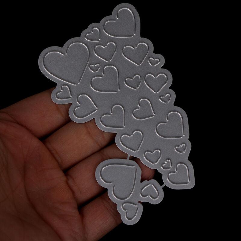 Love Heart Metal Cutting Dies For DIY Scrapbooking Card Paper Album KY 8