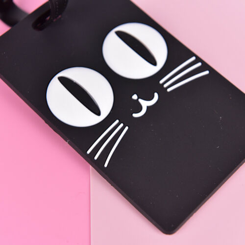 Luggage Tag Travel Bag Label Suitcase ID Baggage Address Card Holder Gift 9