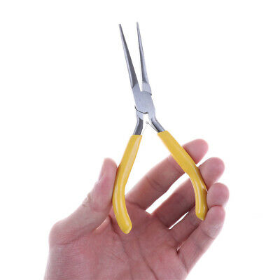 Needle Nose Pliers 5/'/'//125mm Long Nose Pliers Multi Forceps Repair Hand ToolCYC