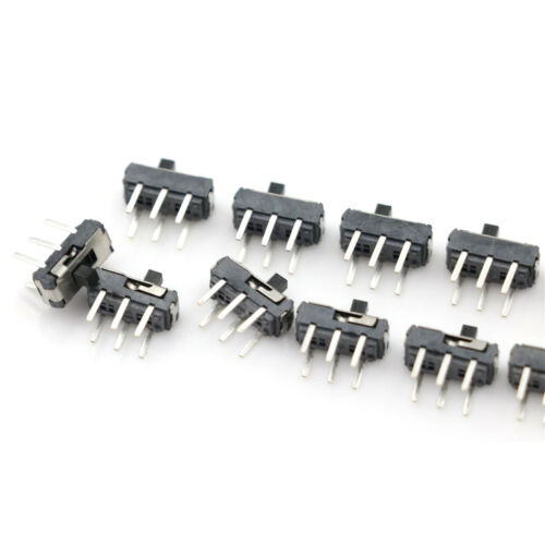 10pcs MSS-22D18 DPDT 6 Pin Toggle Vertical Mini Slide Type DIP Switch HVCA
