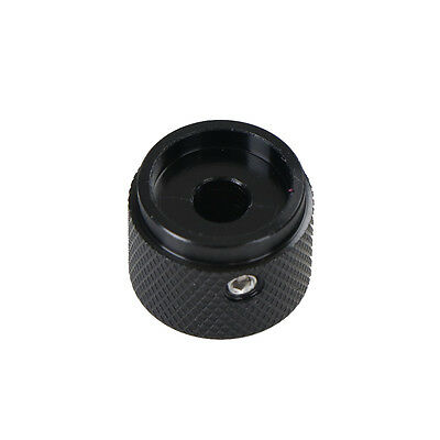 1x Dia Black Aluminum Rotary Control Potentiometer Knob 25mm x 15.5mm H/&P