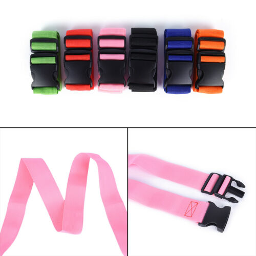 Useful Travel Luggage Suitcase Strap Baggage Backpack Safe Belt Reinforcement YT 3