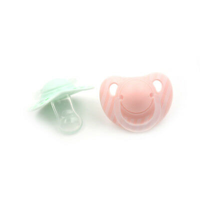 Infant Baby Supply Soft Silicone Orthodontic Nuk Pacifier Nipple Sleep SootherCQ