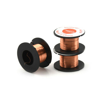 1 Roll Magnet Wire AWG Gauge Enameled Copper Coil Winding 0.1mm x15 meter length