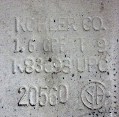 """Kohler Dark Blue Toilet Tank Lid Cover Rosario K83693 K3434 SeeCondition 15-1/2"""" 8"""