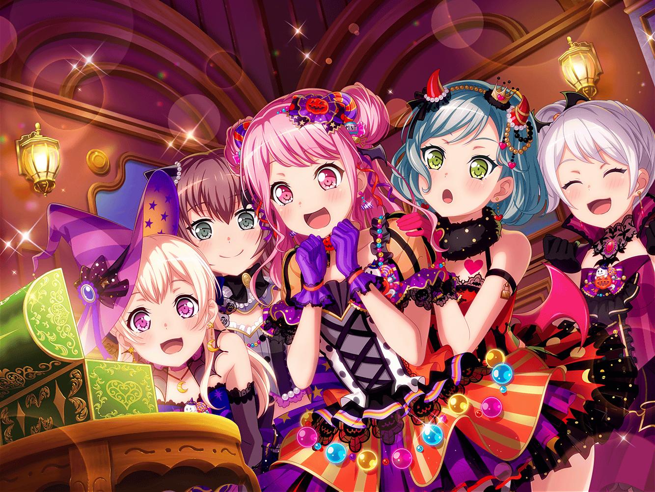 [JP] BanG Dream! Girls' Band Party! limited Aya + 85000 Gems starter account 2