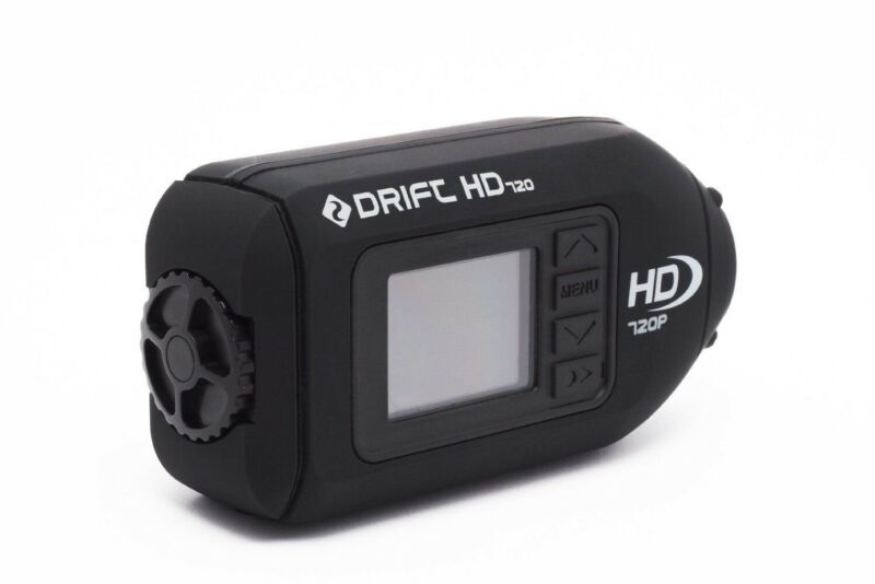 DRIFT HD 720 Action Camera *NEW* Motorcycle Sports Ski Bike Helmet Video Cam 3