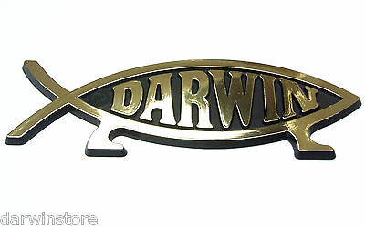 DARWIN FISH STICKER for window evolution symbol decal plaque UK