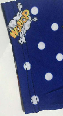 "Adult Size ""Baby Grow"" Based On The Adult Diaper / Nappy Super Boompa Blue Dotty 12"