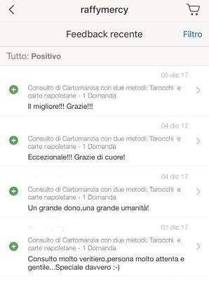 Consulto di Cartomanzia con due metodi: Tarocchi  e carte napoletane - 3 DOMANDE 3
