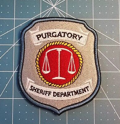 Wynonna Earp Purgatory Patch 3 inches wide 3 1/2 inches tall 5