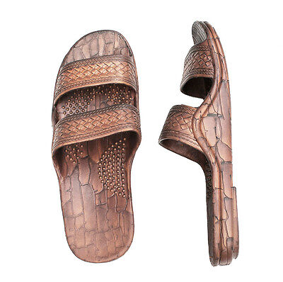 best quality the best low priced IMPERIAL HAWAII BROWN Rubber Hawaiian Jesus Sandals Jandals ...