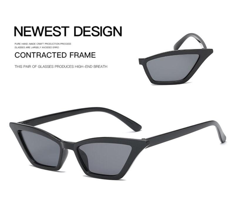 1ca9ca878e4f5 Fashion Vintage Cat Eye Sunglasses Women Retro Small Frame Shades Uv400  Glasses 11 11 of 12 See More