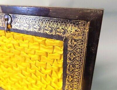 Antique Regency Rosewood Sewing Box. Brass Inlays. Original. Genuine. 10